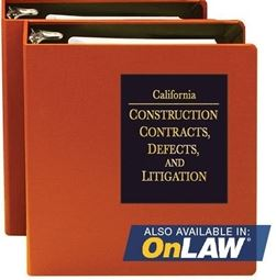 Construction Contracts Defects and Litigation
