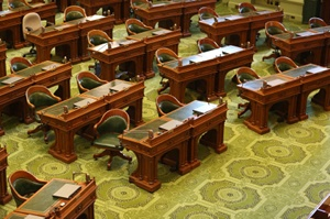 California State Legislature chamber
